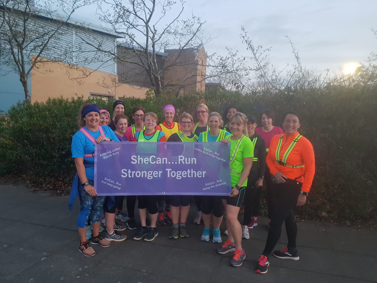 She Can...Run - Stronger Together